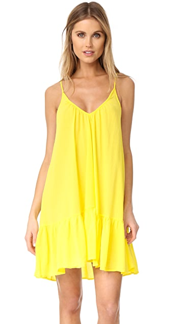 9seed St. Tropez Ruffle Mini Dress