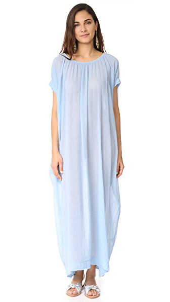 9seed Moonstone Caftan In Chambray