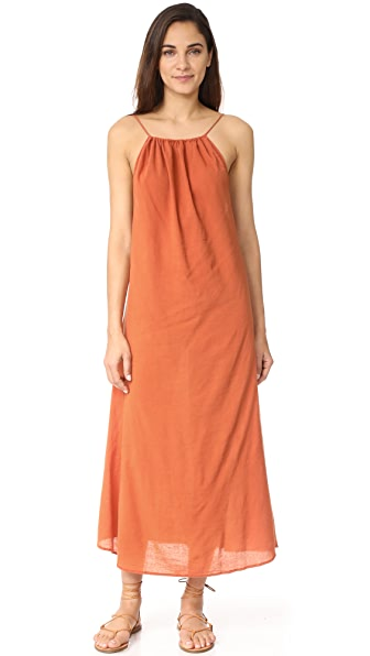9seed Mykonos Tie Strap Maxi Dress