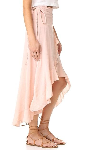 9seed Solana Wrap Skirt