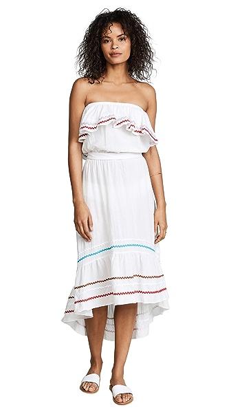 9seed Todos Santos Off Shoulder Dress In White