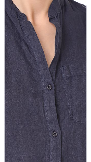 NSF Renny Sleeveless Shirtdress