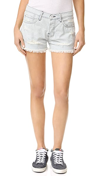 NSF Lolita Shorts - Faded Stripe