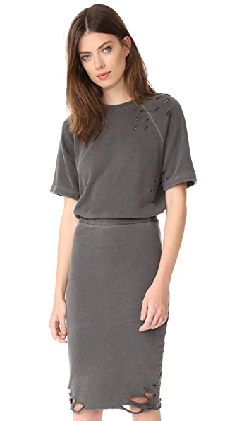 NSF Gia Dress - Pigment Black