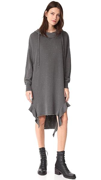 NSF Wren Sweatshirt Dress - Pigment Black