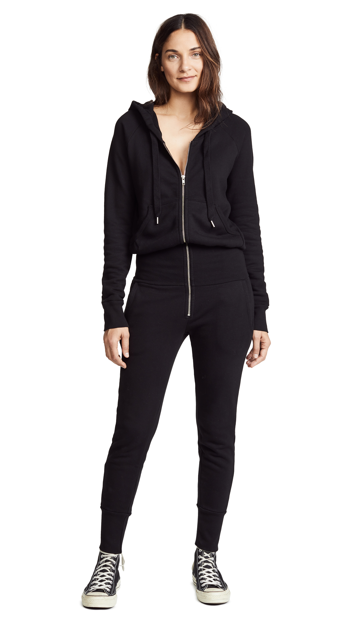 NSF Stasia Jumpsuit In Black