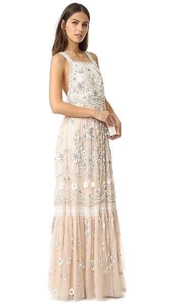 Needle & Thread Embellished Bib Gown