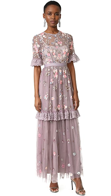 Needle & Thread Ditsy Scatter Gown