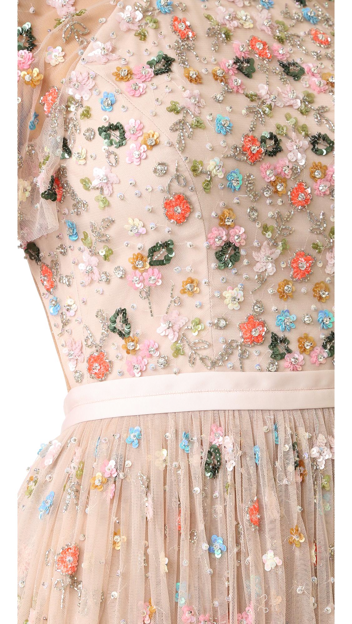 needle u0026 thread starburst dress shopbop