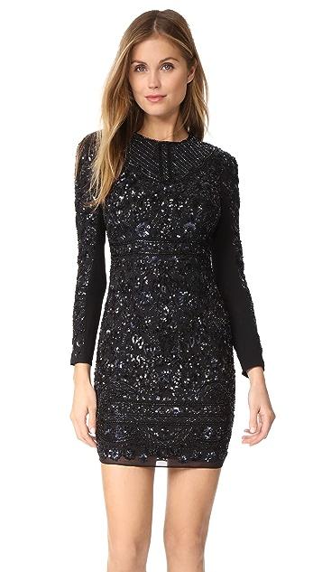 Needle & Thread Midnight Lace Dress