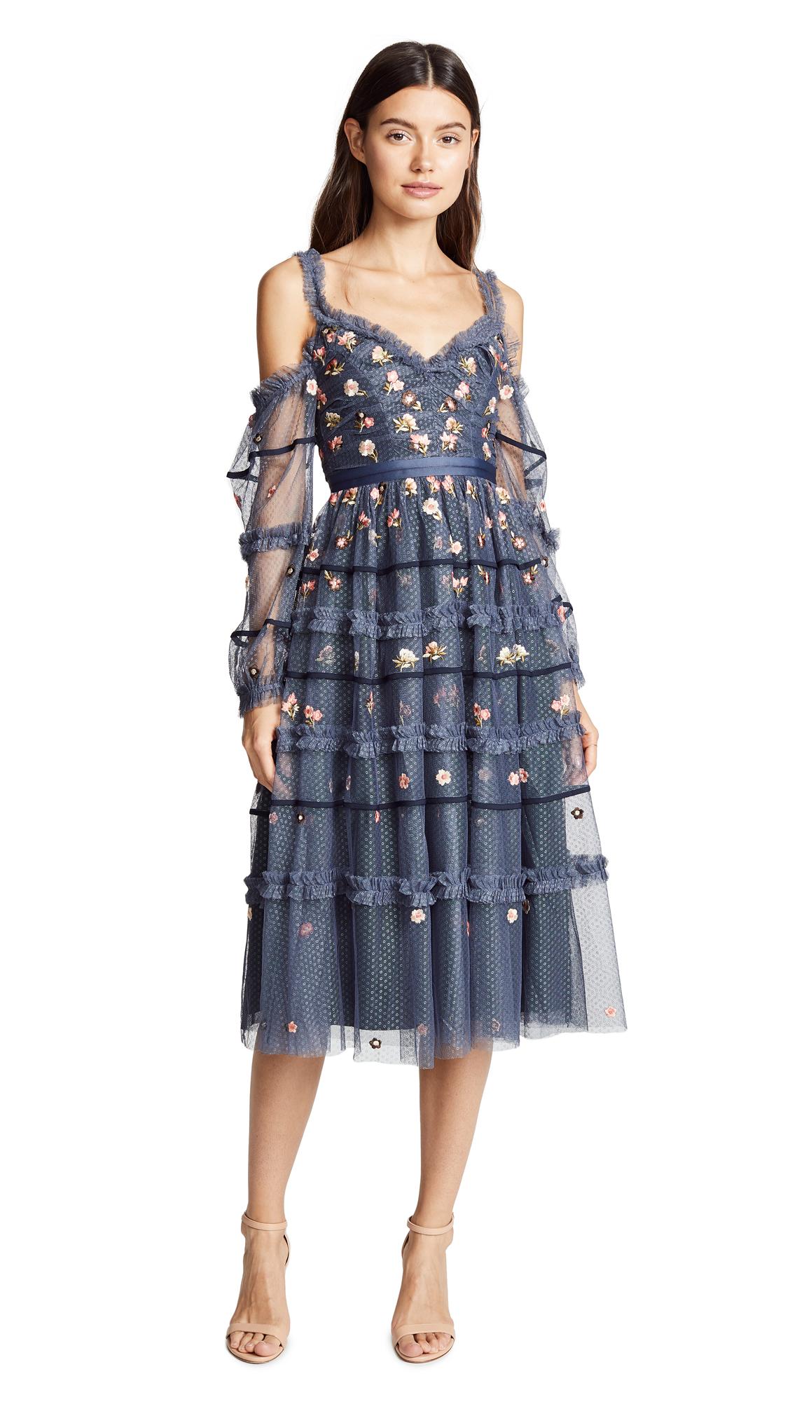 NEEDLE & THREAD CELESTE DRESS