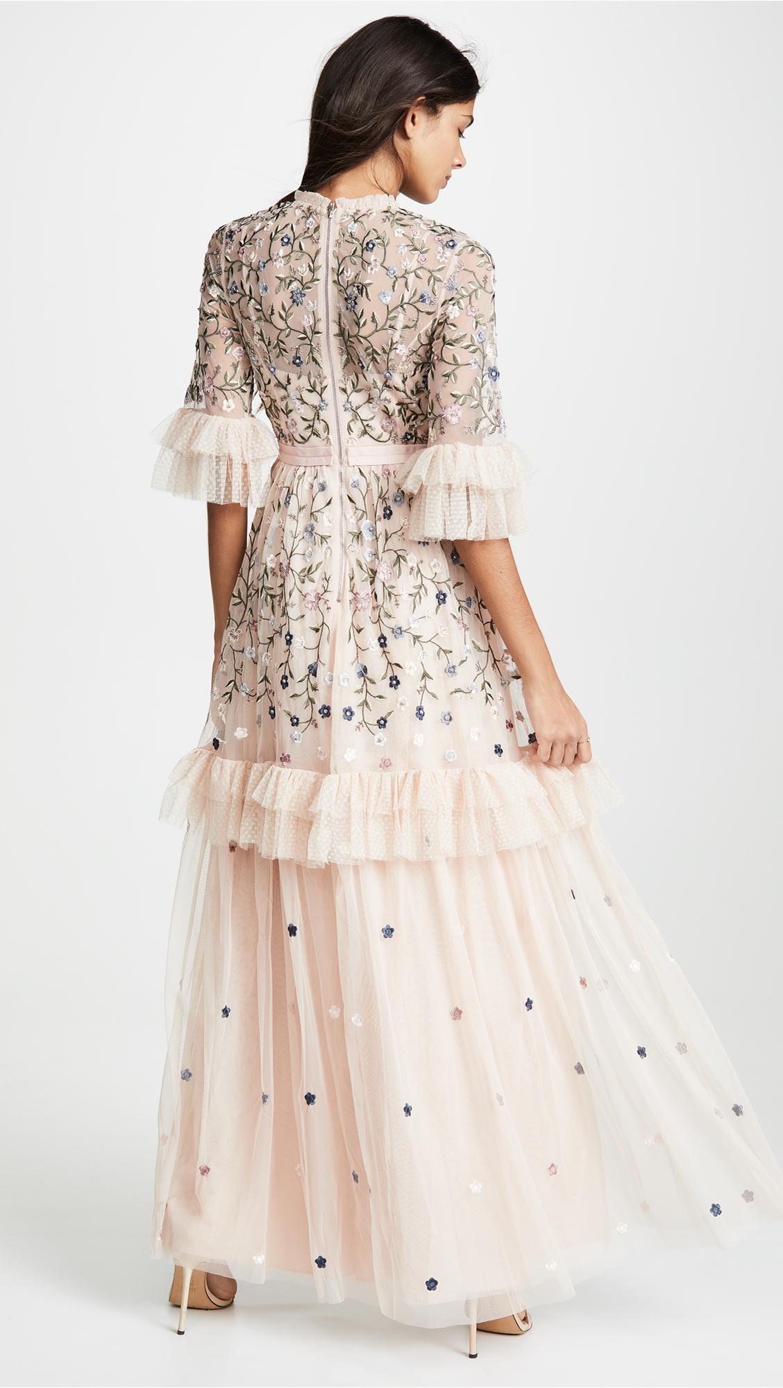 ada89506b93d Needle & Thread Dusk Floral Gown | SHOPBOP