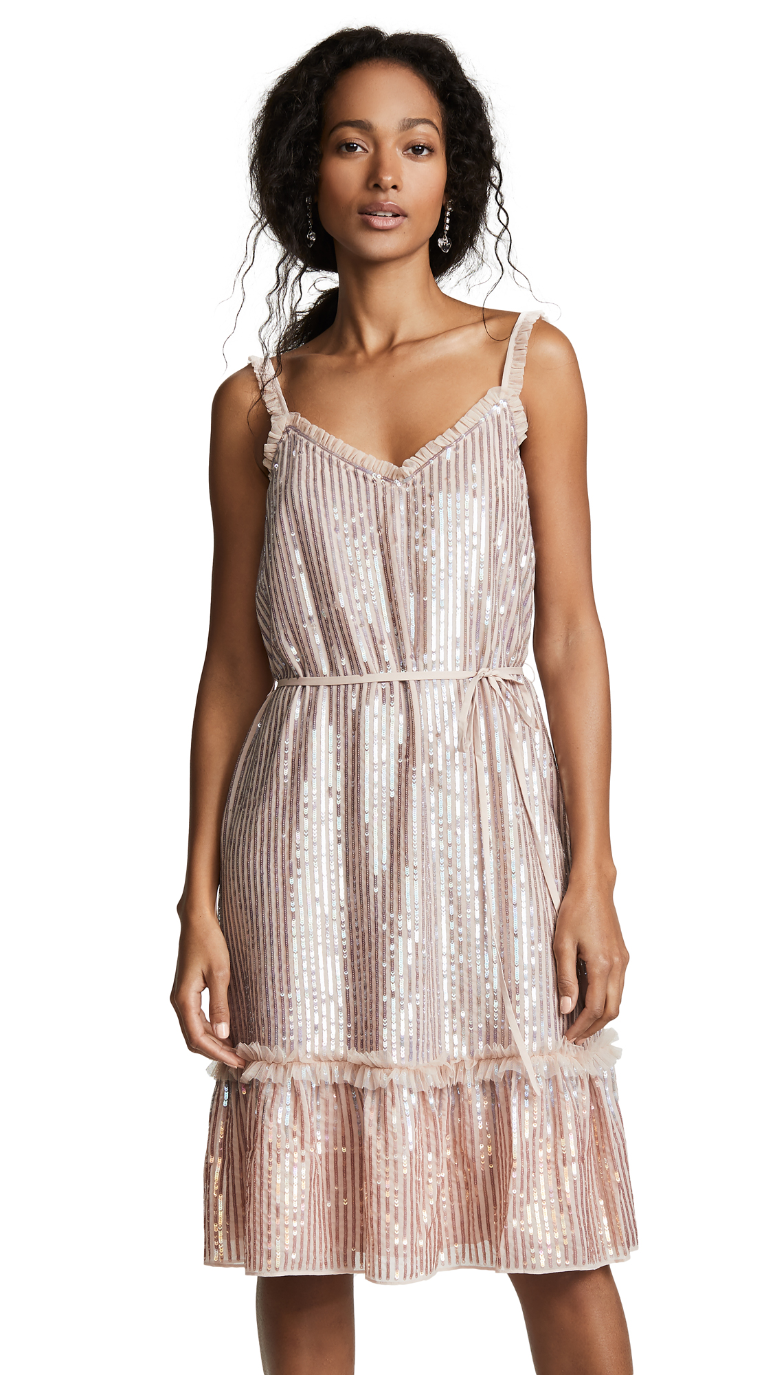 Needle & Thread Gloss Sequin Cami Dress