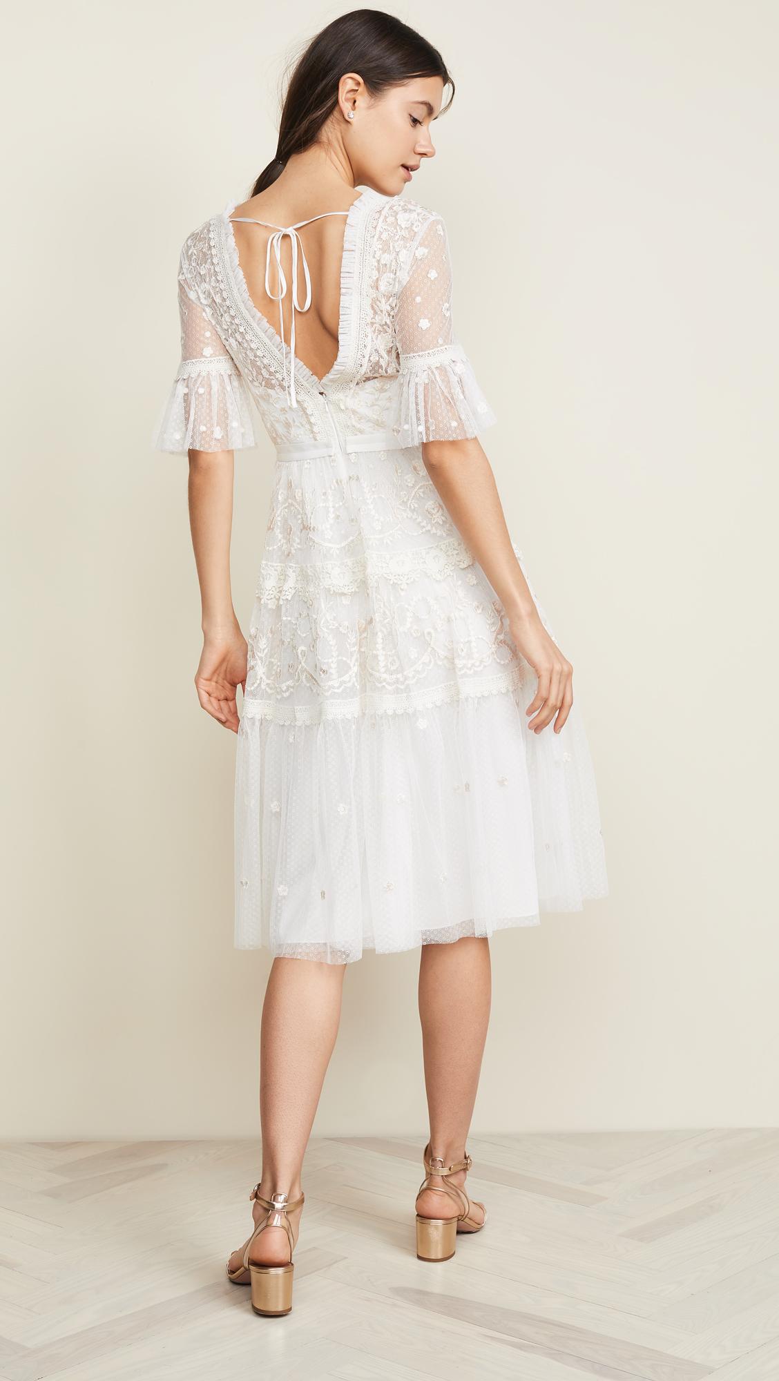Lace Thread Needleamp; Midsummer DressShopbop Thread Midsummer DressShopbop Needleamp; Lace Needleamp; odeBWrCx