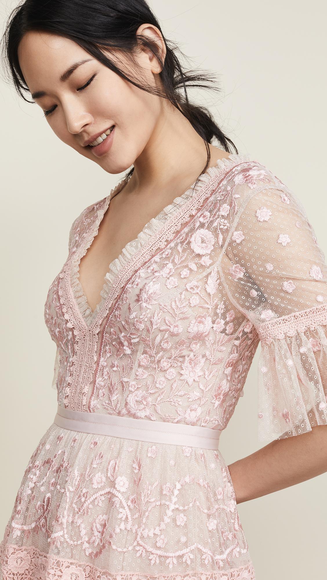 5aec9bfad78e Needle & Thread Midsummer Lace Dress | SHOPBOP
