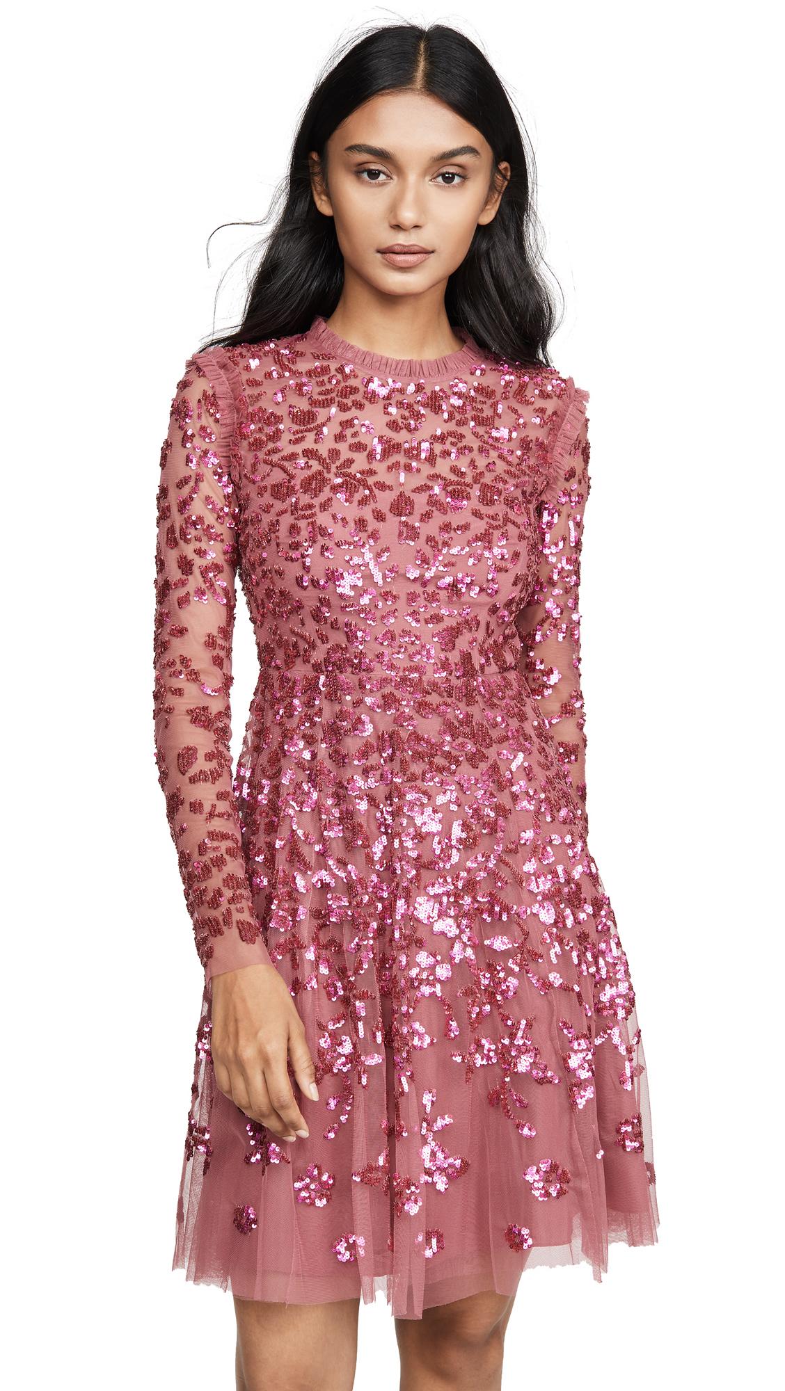 Buy Needle & Thread online - photo of Needle & Thread Rosamund Sequin Dress