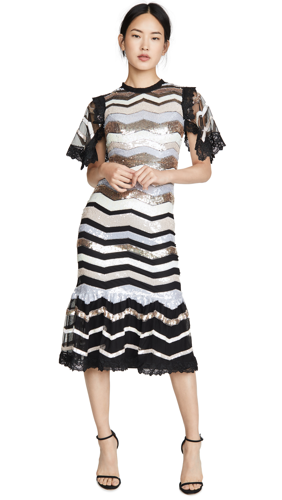 Needle & Thread Alaska Midi Dress - 30% Off Sale