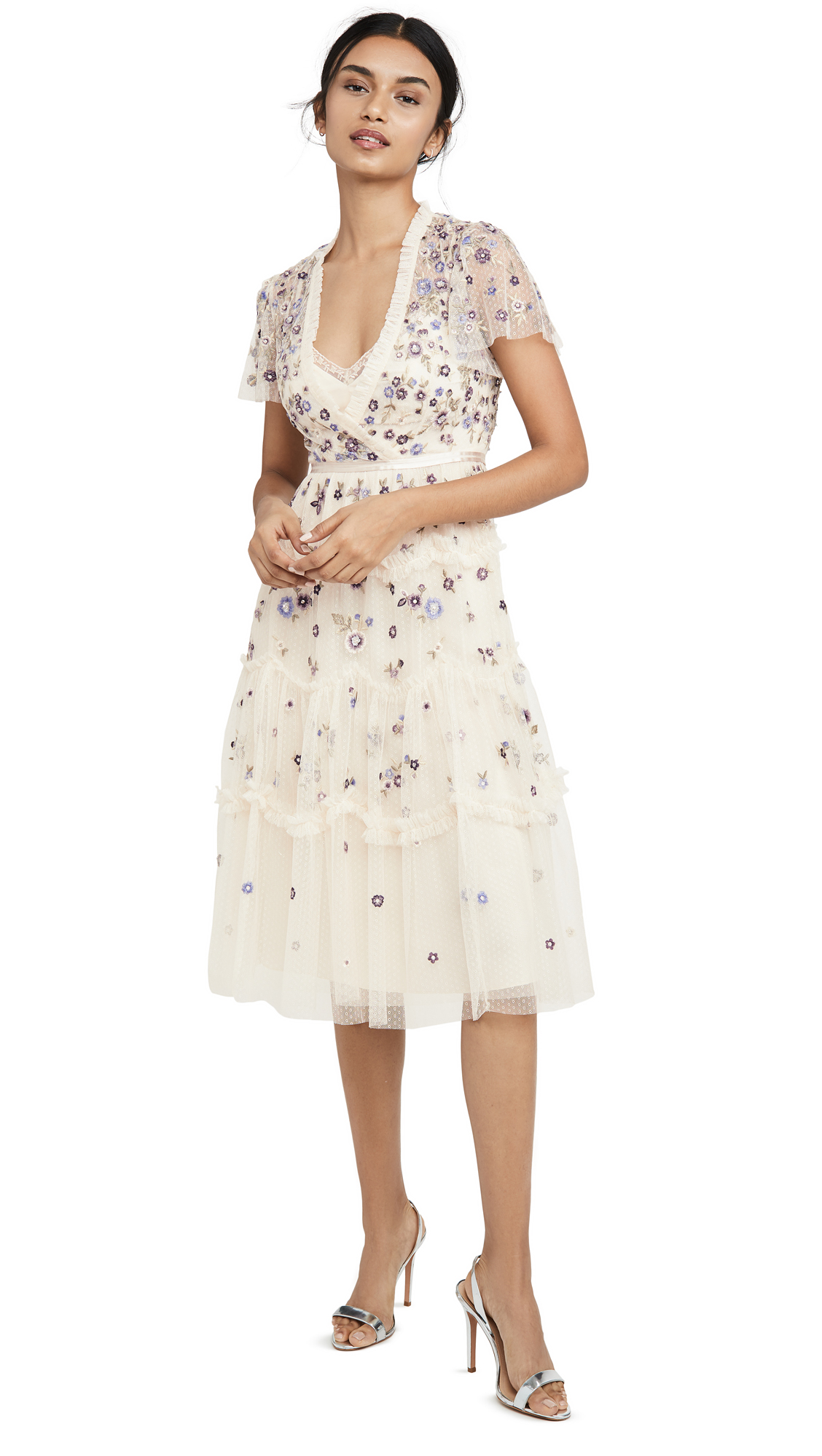 Buy Needle & Thread online - photo of Needle & Thread Prarie Flora Dress