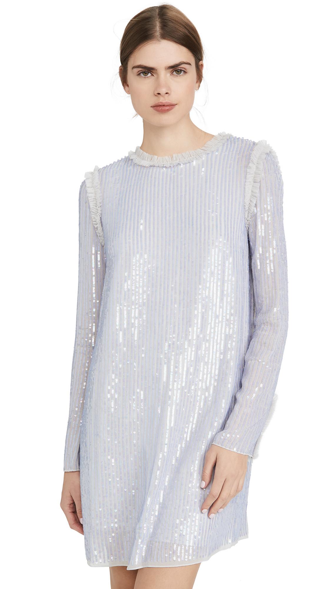 Buy Needle & Thread online - photo of Needle & Thread Shimmer Mini Dress