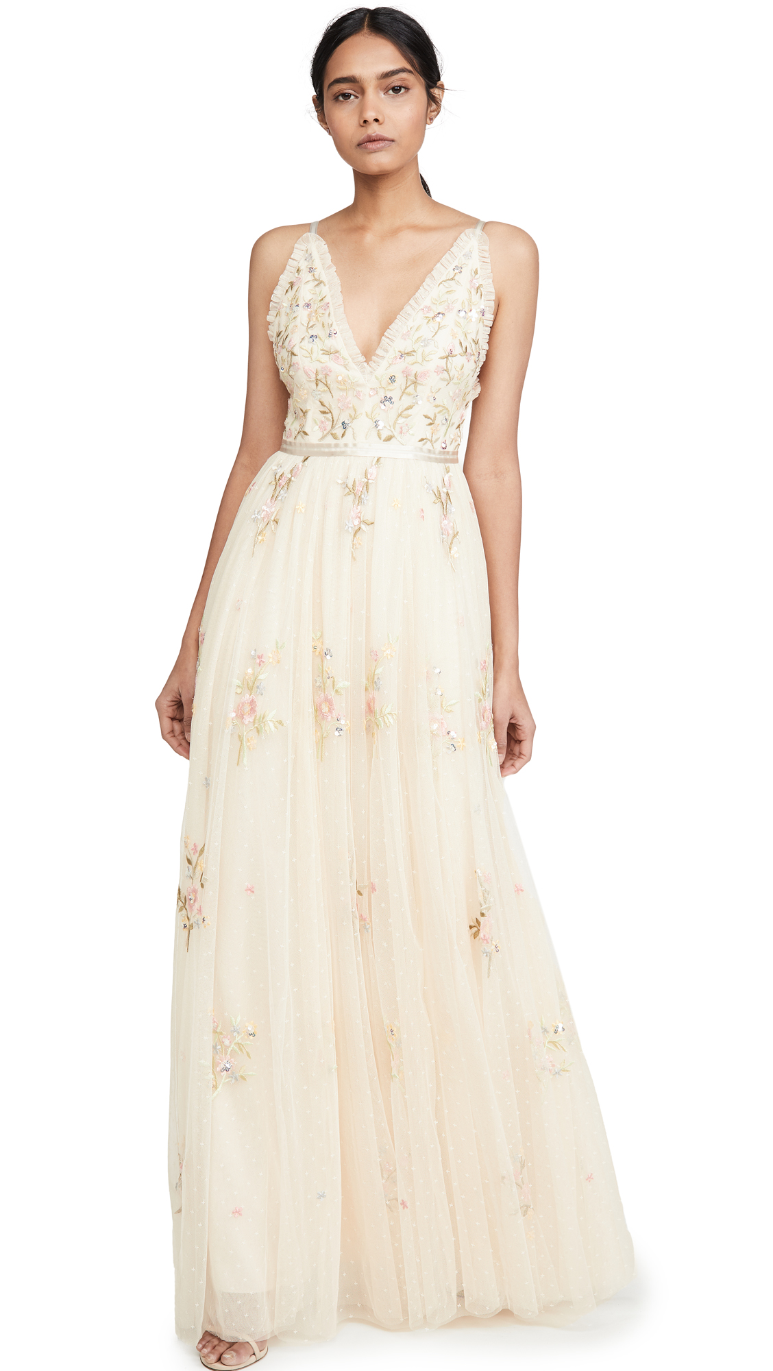 Buy Needle & Thread Petunia Gown online beautiful Needle & Thread Dresses, Strapless