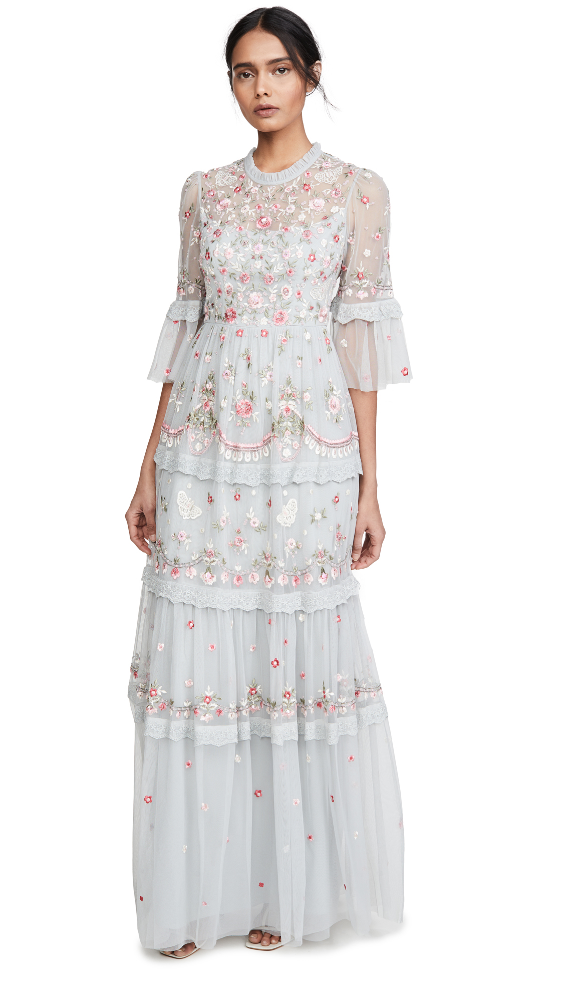 Needle & Thread Butterfly Meadow Gown - 40% Off Sale