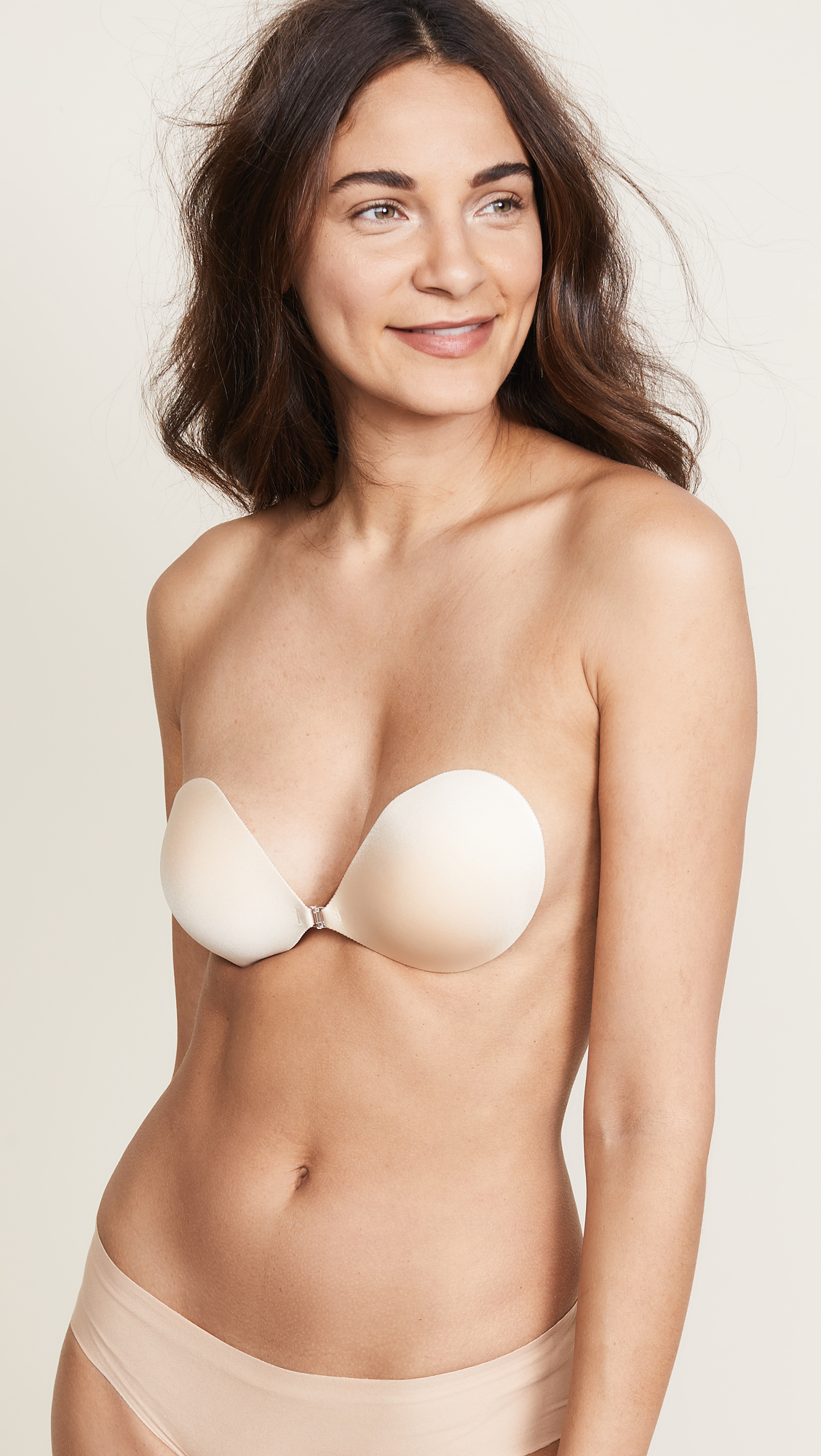 ddb4e7f31 NuBra Seamless Push Up Bra