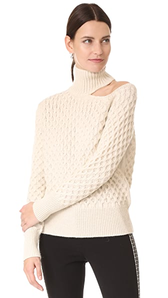 NUDE Turtleneck Sweater - Gypsum