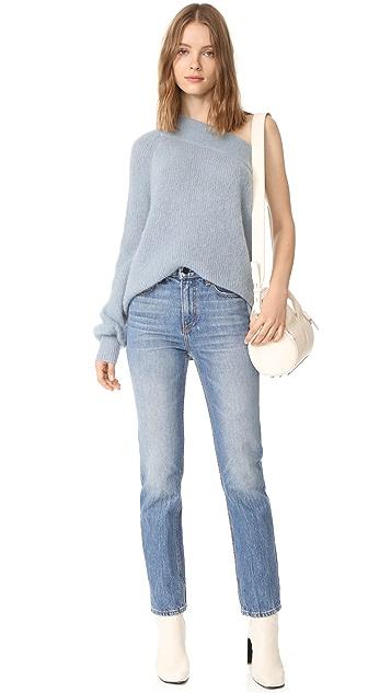 NUDE Off Shoulder Sweater