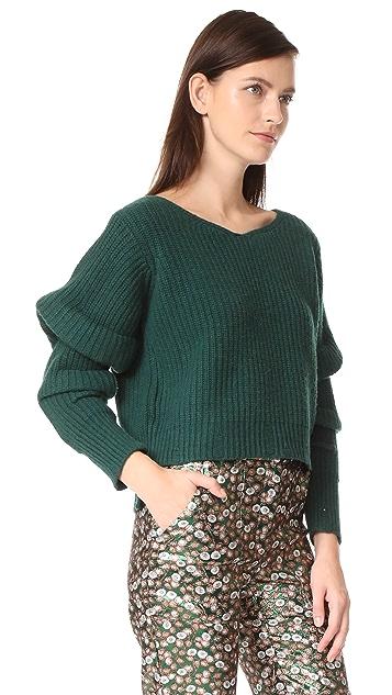NUDE V Neck Sweater