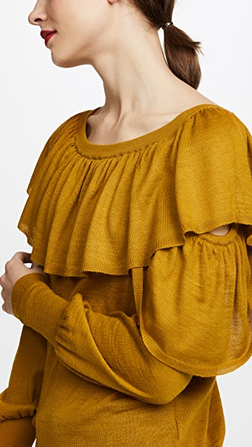 NUDE Boat Neck Sweater