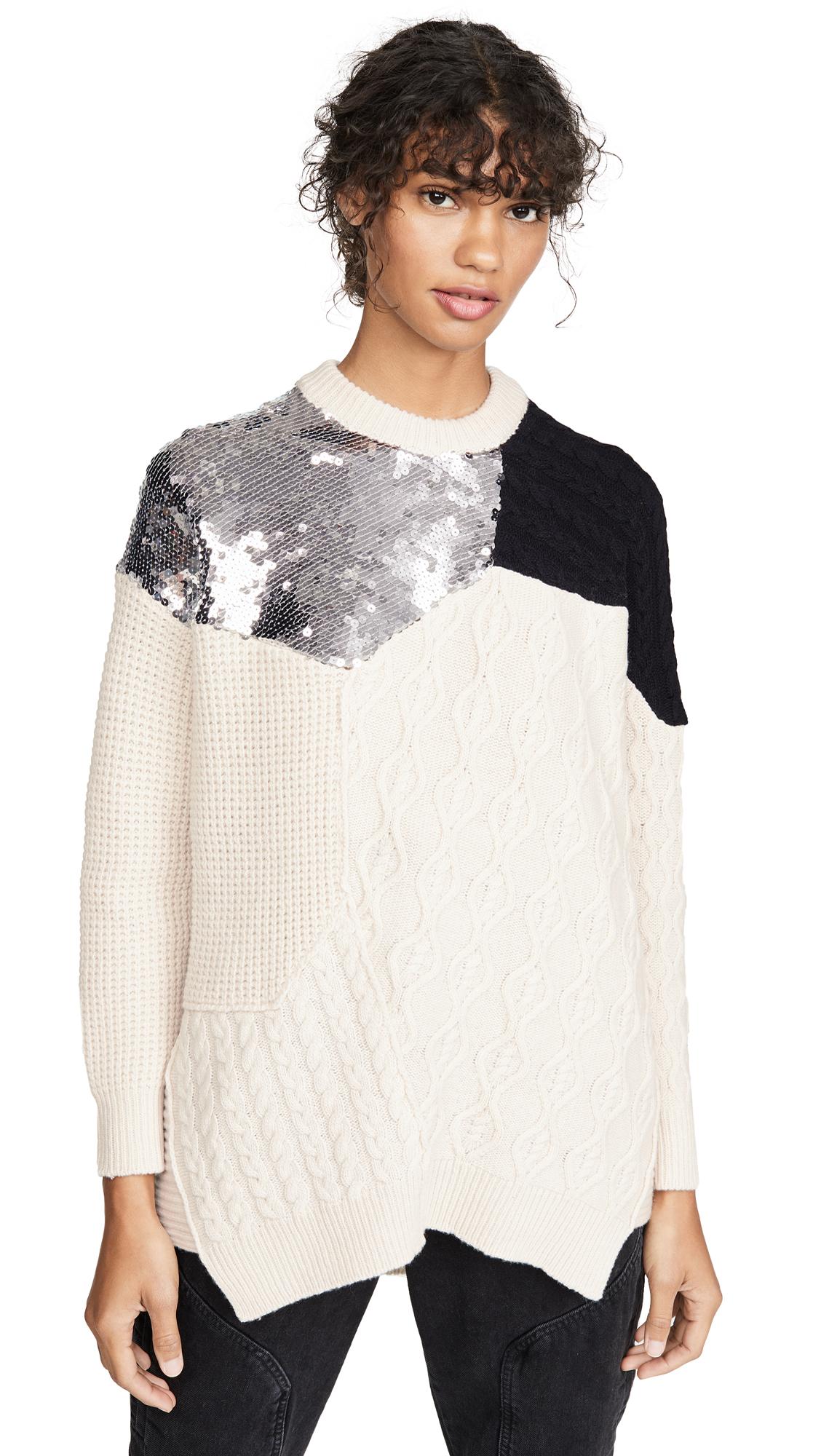 Buy NUDE online - photo of NUDE Roundneck Sequin Sweater