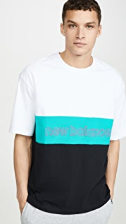 New Balance Classic Colorblocked Tee Shirt