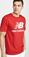 New Balance Essentials Stacked Logo Tee Shirt