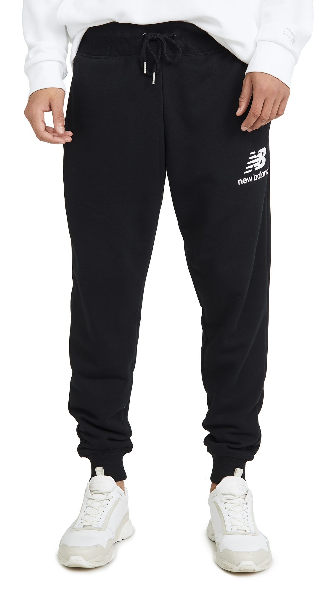New Balance Essentials Stacked Logo Sweatpants
