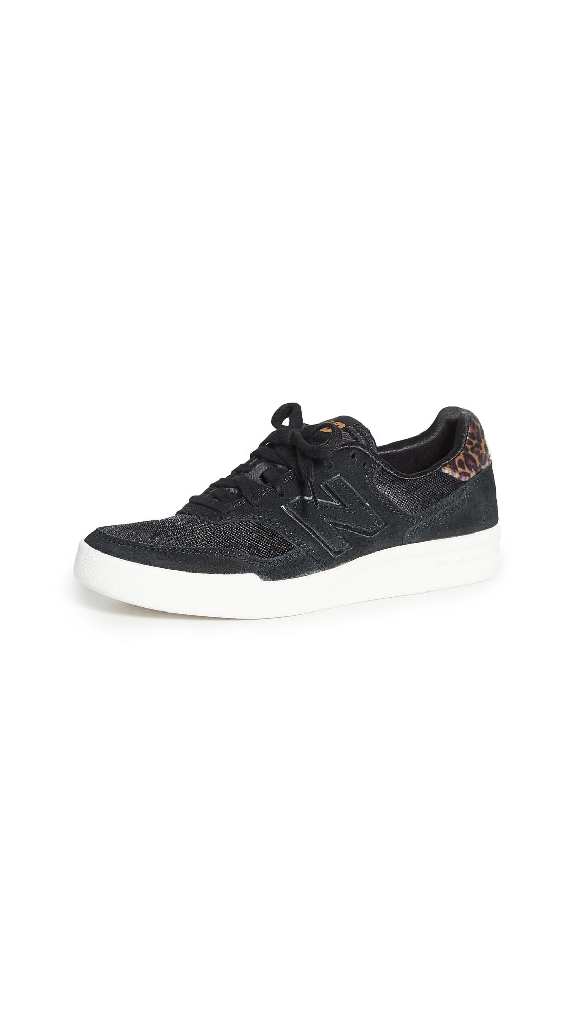 New Balance Black Lace Up Sneaker