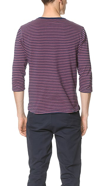Native Youth Contrast Breton Top