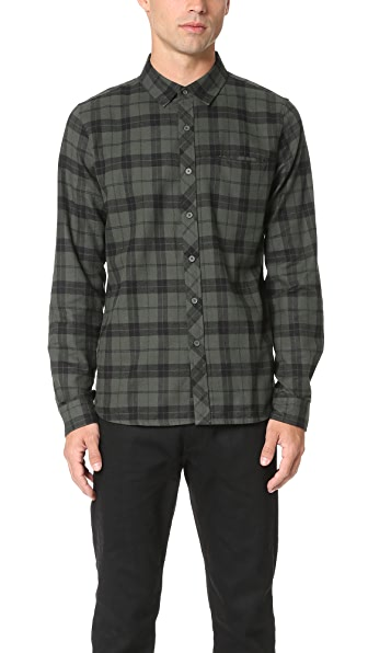 Native Youth Beach Check Shirt
