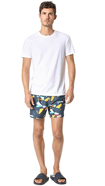 Native Youth Organic Displacement Swim Trunks