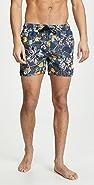 Native Youth Geo Flora Swim Shorts