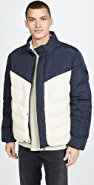 Native Youth Gotland Two Tone Puffer Jacket