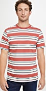 Native Youth Short Sleeve Multi Stripe T-Shirt