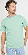 Native Youth Yarn Dye Multi Stripe Jersey T-Shirt