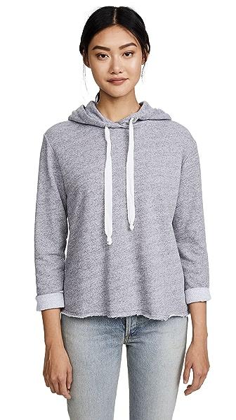 NYTT Harper Hooded Sweatshirt In Heather Grey
