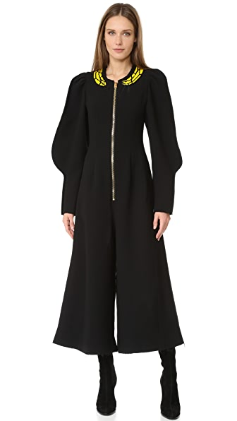 Natasha Zinko Long Sleeve Jumpsuit - Black