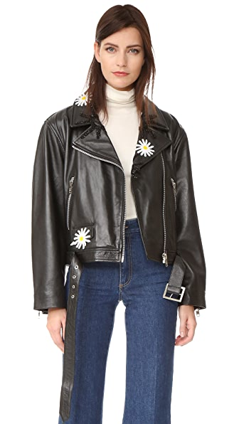Natasha Zinko Leather Jacket