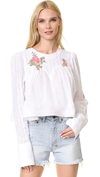 Natasha Zinko Cotton Blouse - White