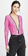 Natasha Zinko Elastic Lace Bodysuit