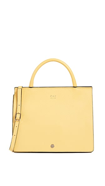 OAD Prism Satchel In Lemon Yellow