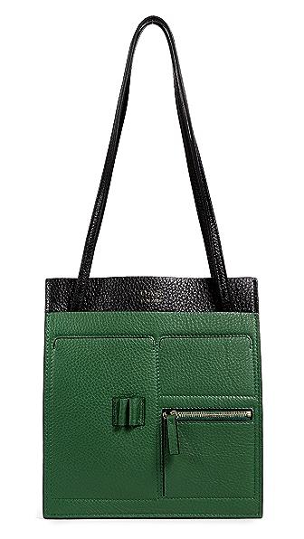 OAD Kit Shoulder Bag In Dark Green/Black