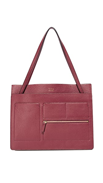 OAD Wine Red Kit Tote